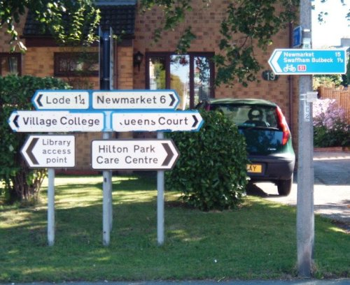 That's 9 extra miles of the National Cycle Network!  No extra charge!