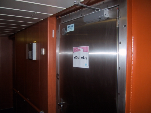 """The """"AGE locker...."""" Is this where they keep the cadavers?"""