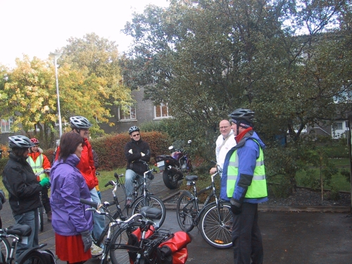 The informative 'Free' Reykjavik Bicycle Tour (photo Leah Arnold)
