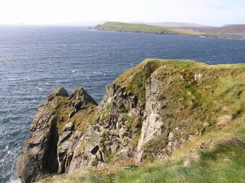 The Cliffs of Lerwick.... (photo courtesy Leah Arnold)