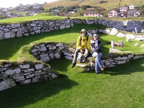 """A 4000 year old """"broch"""" in Shetland"""