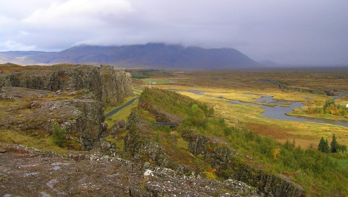 Thingvellir Natl Park- 30 miles from Reykjavik  (Photo: Leah Arnold)